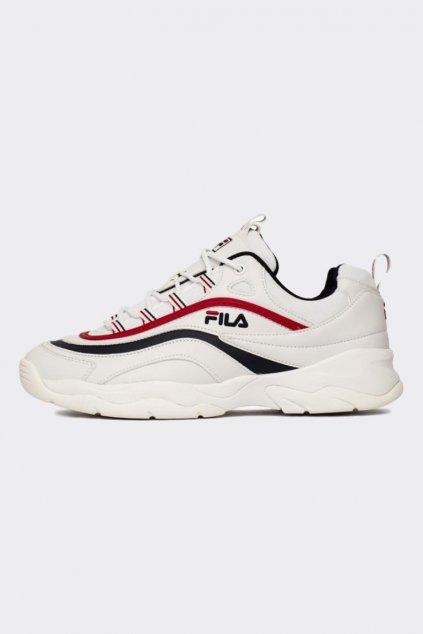 FILA Ray boty dámské - bílá, modrá, červená