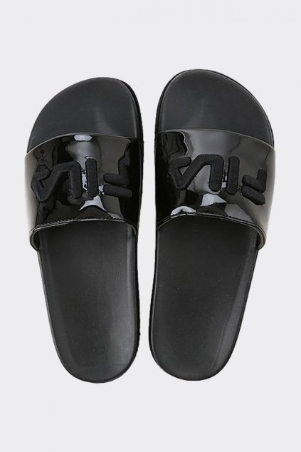FILA Morro Bay Zeppa pantofle dámské - černé