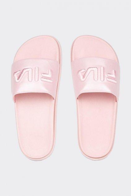 FILA Morro Bay Zeppa pantofle dámské - růžová