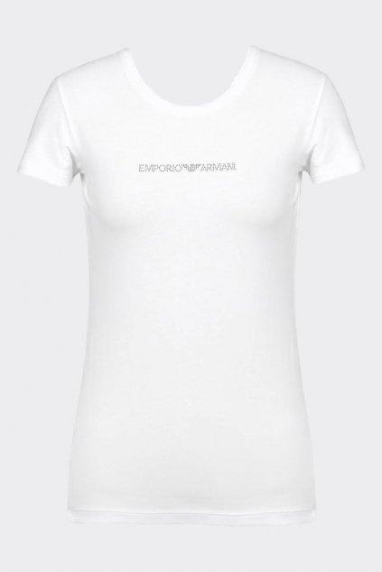 Emporio Armani visibility tričko - bílá