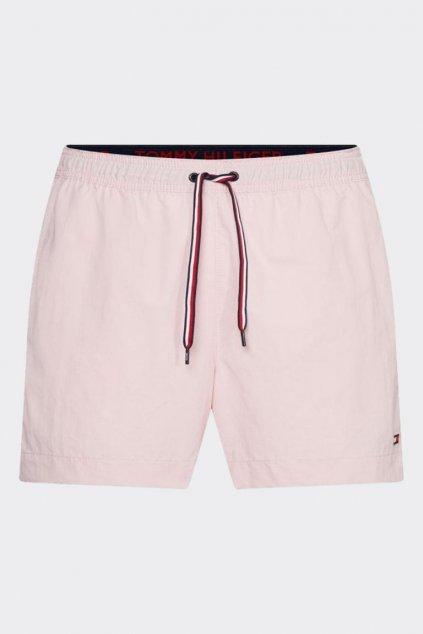 Tommy Hilfiger pánské plavky - světle růžové