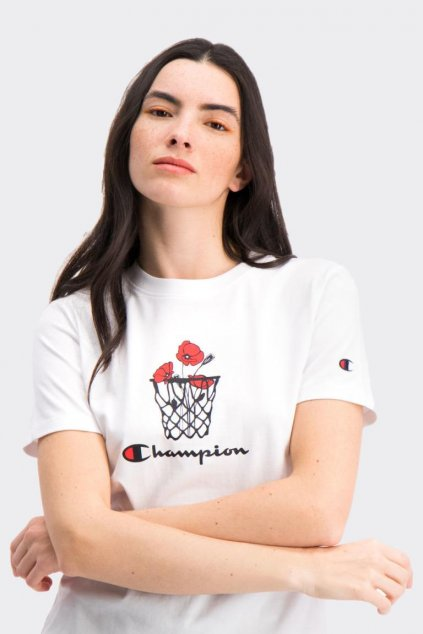 Champion dámské tričko - bílé