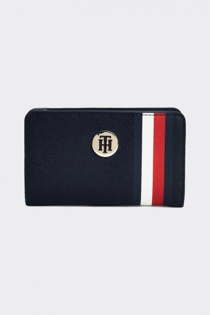Tommy Hilfiger Signature Tape peněženka - modrá