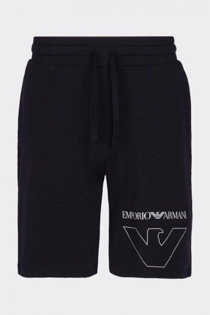 Emporio Armani šortky -černé
