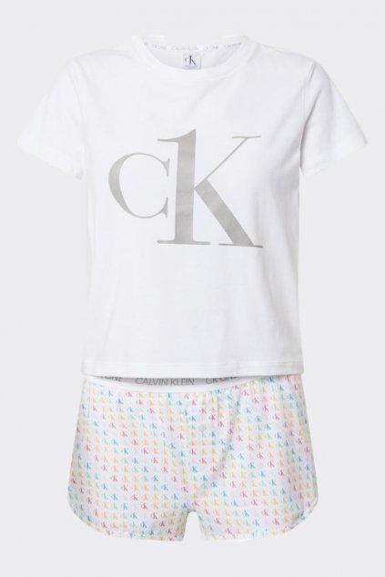 CK ONE pyžamo - bílá s logem