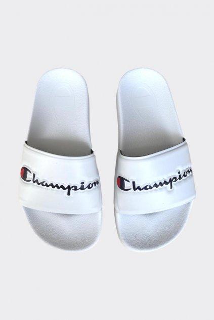 Champion Varsity pantofle dámské - bílé