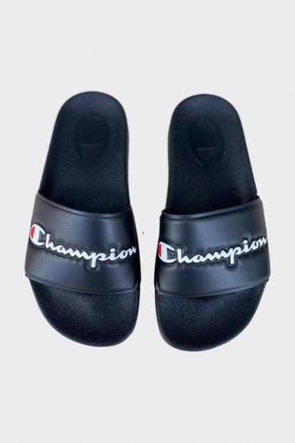 Champion Varsity pantofle dámské - černé