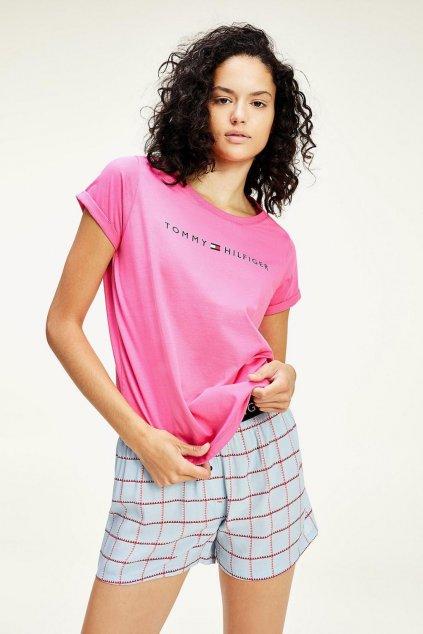 Tommy Hilfiger Original tričko dámské - růžová