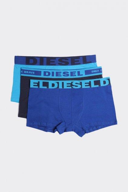 Diesel Logo Boxerky 3 balení - modré
