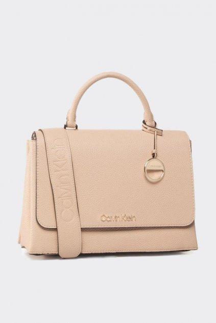 Calvin Klein kabelka - béžová