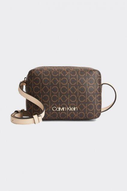 Calvin Klein crossbody camera bag kabelka - hnědá