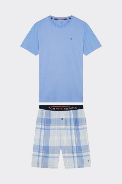 Tommy Hilfiger pánské pyžamo - modré