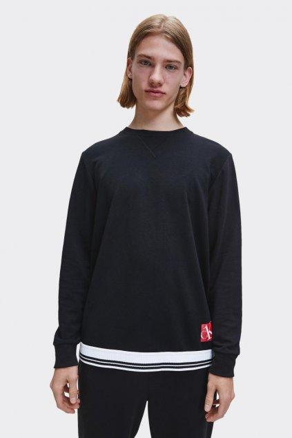 Calvin Klein mikina pánská - černá