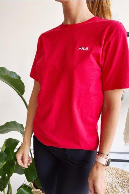 FILA tričko Eara dámské - červená