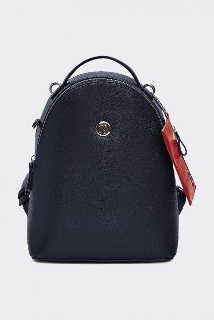 Tommy Hilfiger iconický batůžek - tmavě modrá
