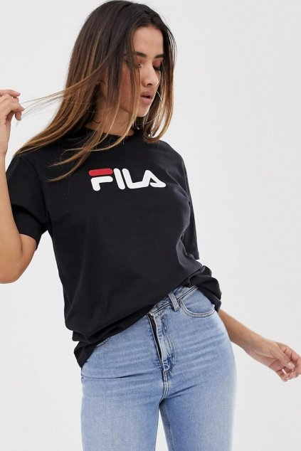 FILA tričko unisex - černá