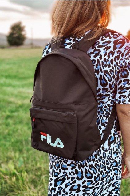 FILA batoh unisex - černý
