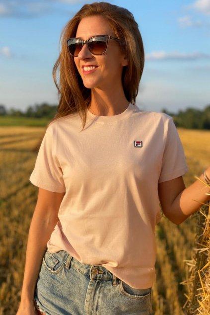 FILA tričko NOVA dámské - světle růžové