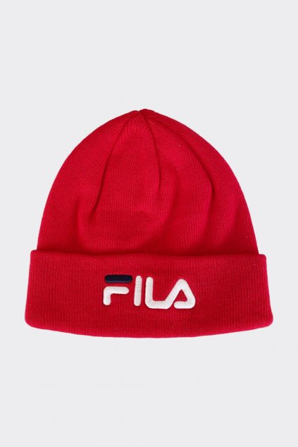 FILA čepice dámská - červená