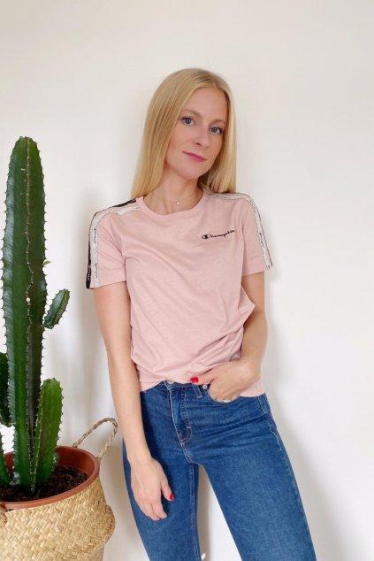 Champion tričko dámské - růžové