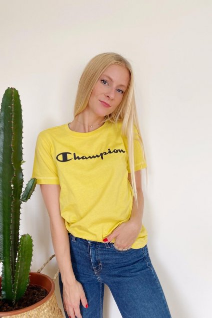 Champion tričko dámské - okrová