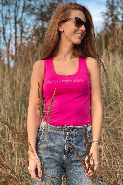 Emporio Armani Neo Romantic tílko dámské - růžové