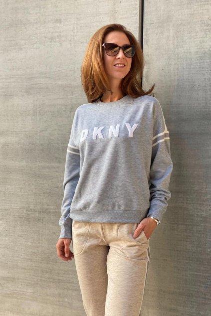 DKNY dámská mikina - šedá