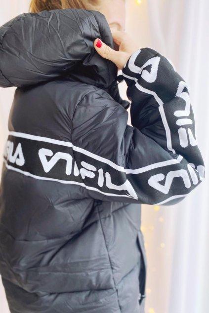 FILA TADEWI kabát dámský - černý