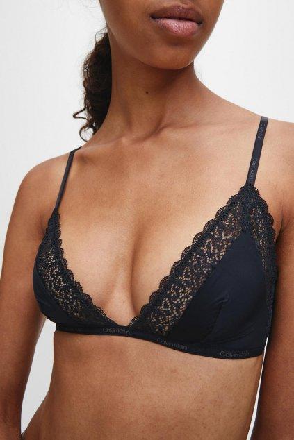 Calvin Klein Flirty nevyztužená podprsenka - černá