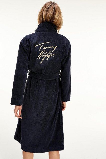Dárkové balení Tommy Hilfiger dámský župan - tmavě modrá