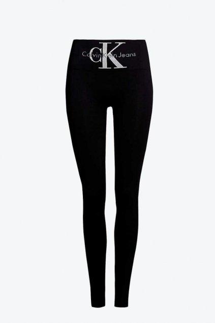 Legíny Calvin Klein Jeans - černé
