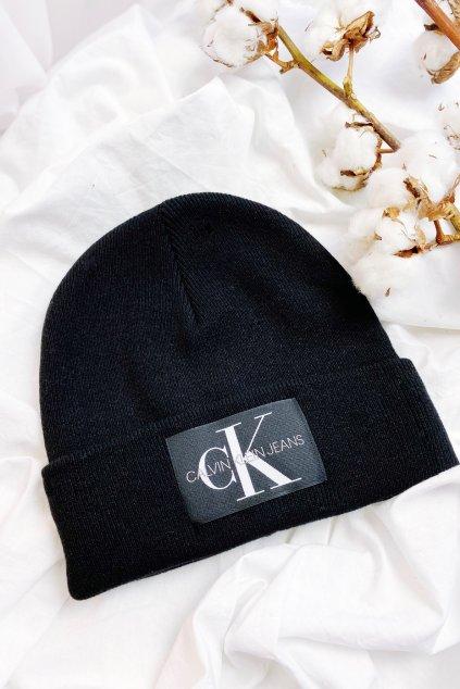 Calvin Klein Jeans beanie čepice unisex - černá