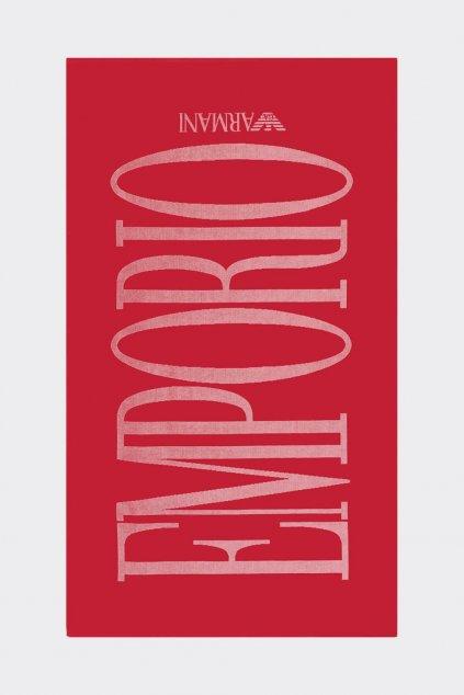 Emporio Armani osuška - červená