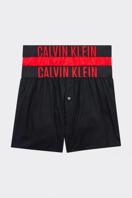 Calvin Klein Intense Power trenýrky 2 balení - černá, červená