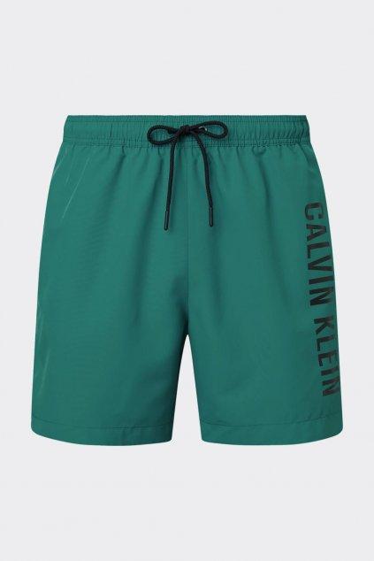 Calvin Klein pánské plavky - zelené