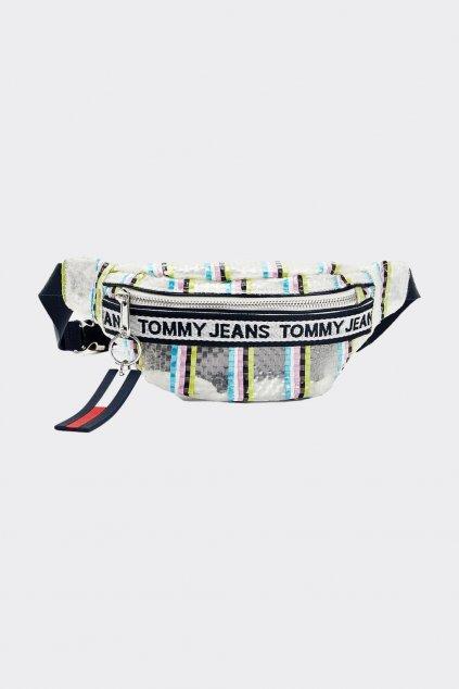 Tommy Jeans logo ledvinka dámská - průhledná