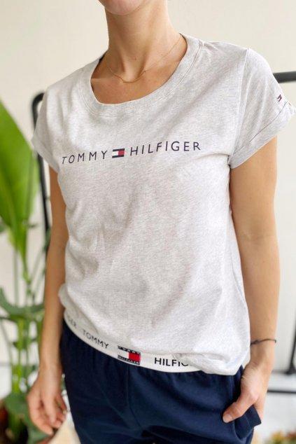 Tommy Hilfiger Original tričko dámské - šedé