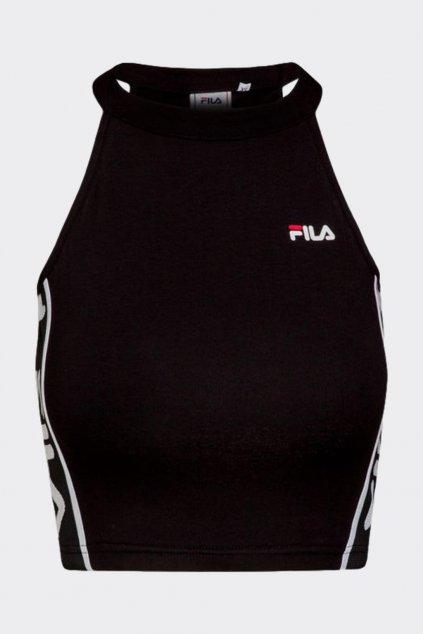 FILA cropped top TAMA - černý