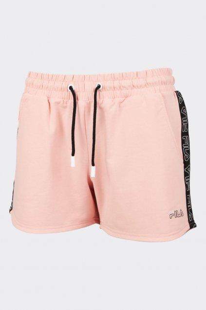 FILA šortky JADIANA dámské - světle růžové