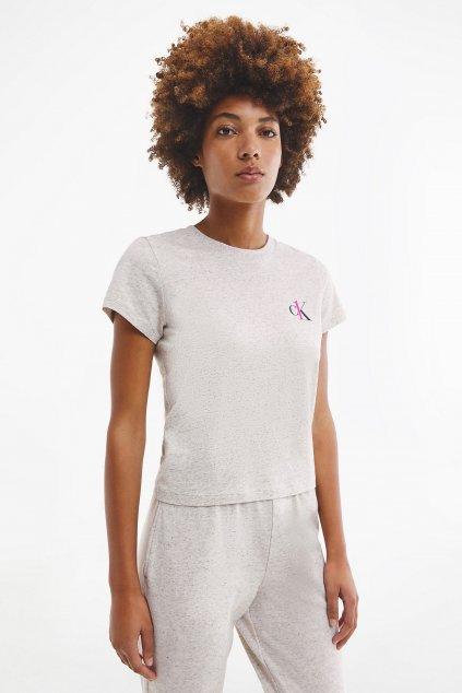 CK ONE tričko dámské - béžové