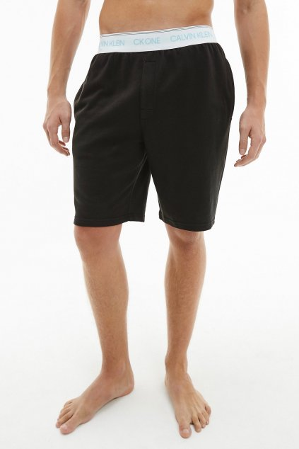 CK ONE šortky pánské - černé