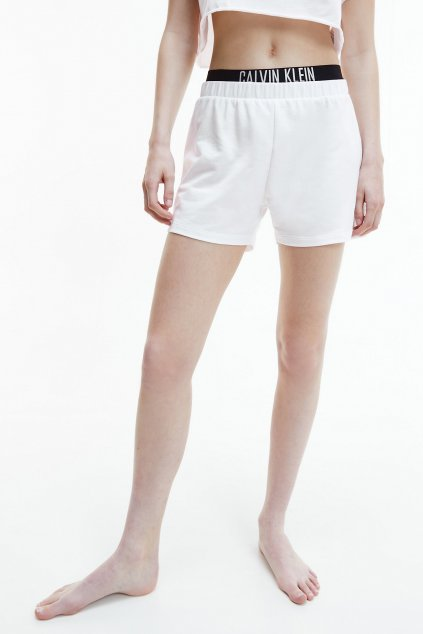 Calvin Klein Intense power šortky - bílé