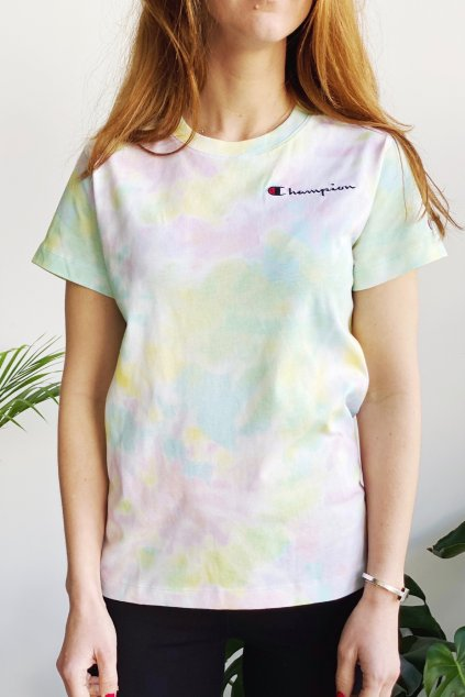 Champion dámské tričko - batikované