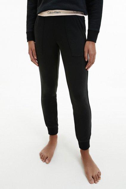 Calvin Klein Modern Cotton fashion tepláky dámské- černé