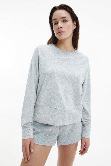 Calvin Klein mikina dámská - šedá