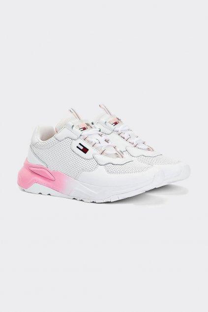 Tommy Hilfiger chunky tenisky - bílá, růžová