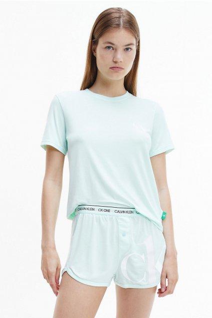 CK ONE pyžamo dámské - mintové