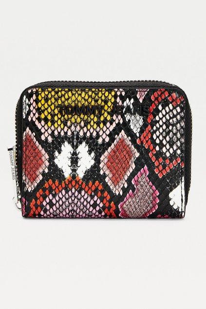 Tommy Jeans dámská peněženka - hadí vzor