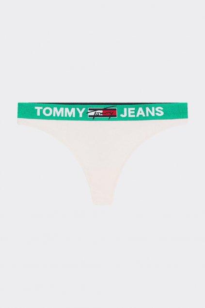 Tommy Jeans tanga - světle růžová
