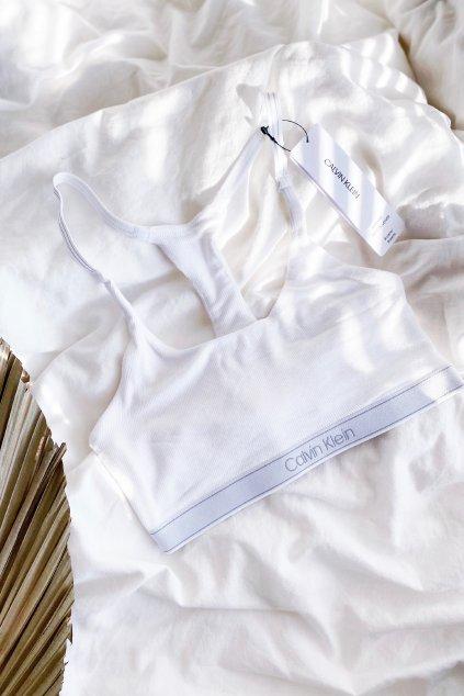 Calvin Klein braletka - bílá